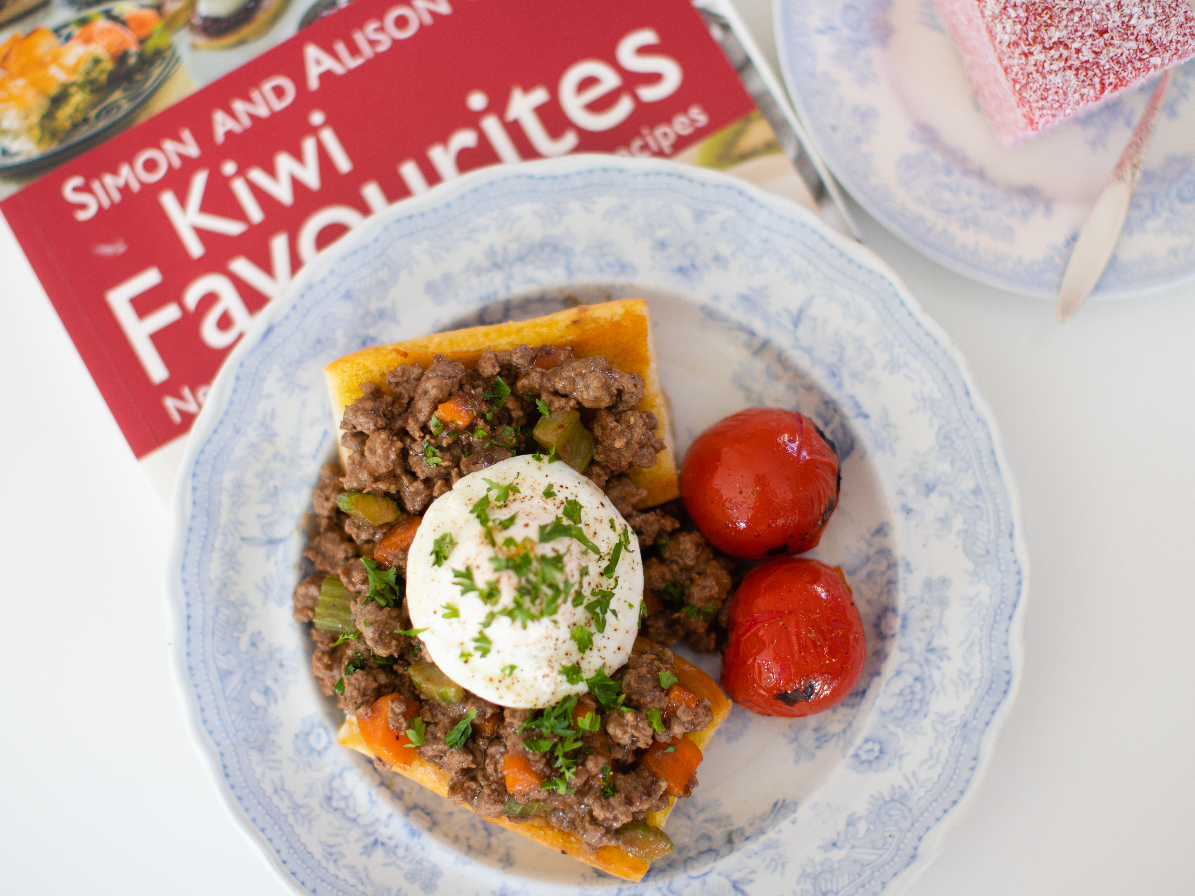 Mince on Toast. Try it, it's the Ultimate Comfort Food.