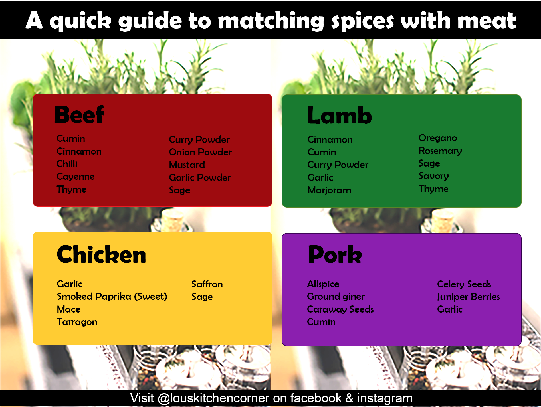 An essential guide to spices & pairing with food