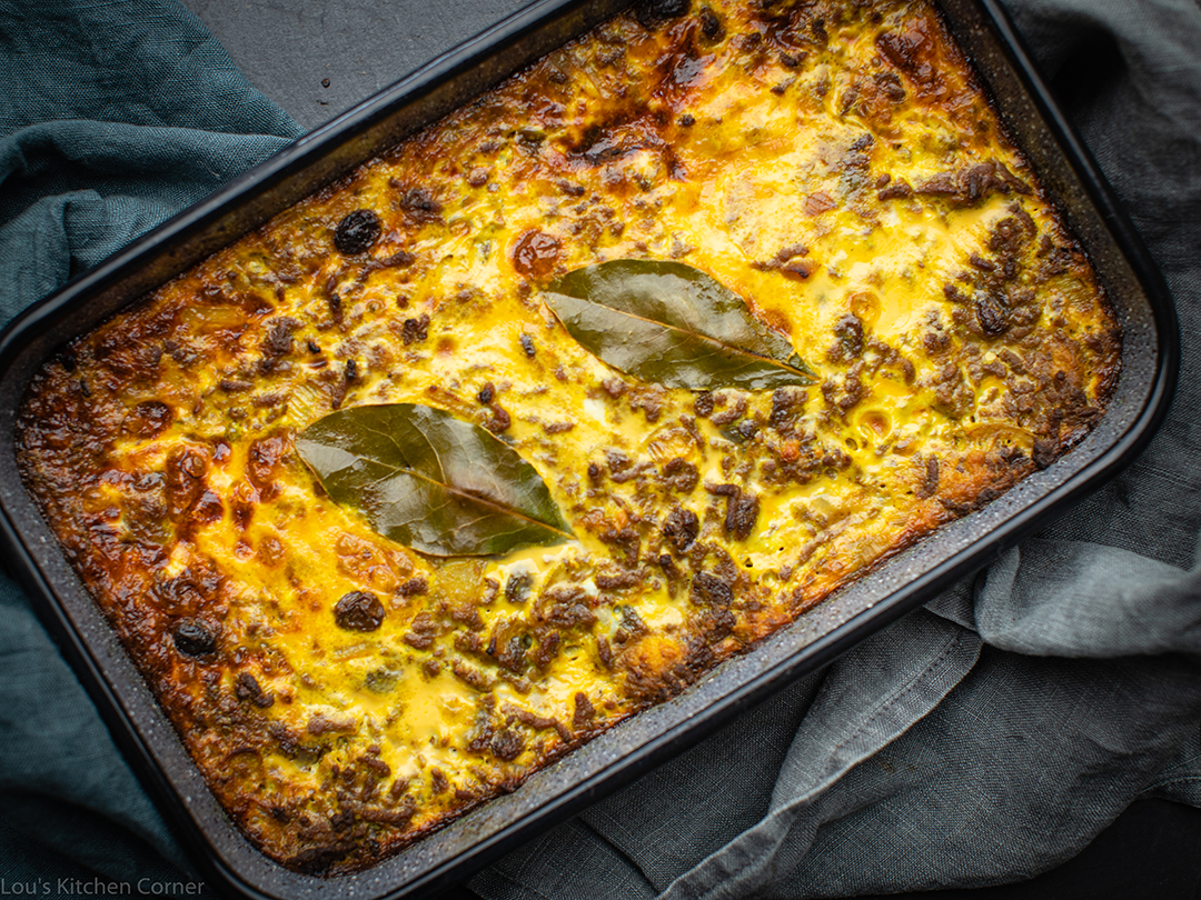 Bobotie A Traditional South African Recipe Lou S Kitchen Corner