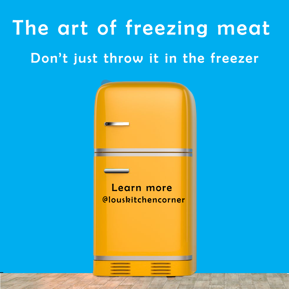 The art of freezing food