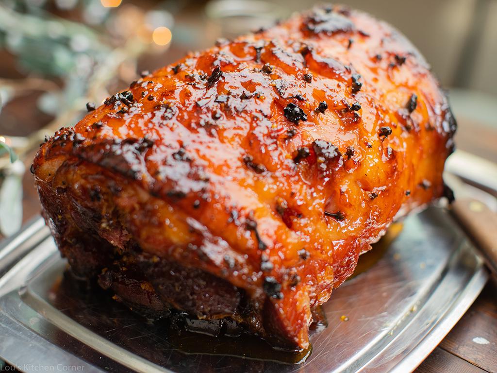 The ultimate Christmas ham