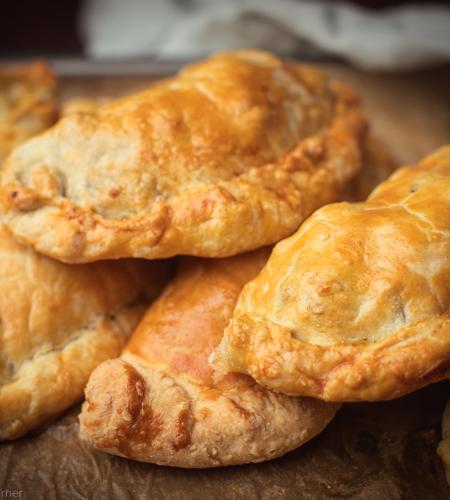 The famous Cornish pasty