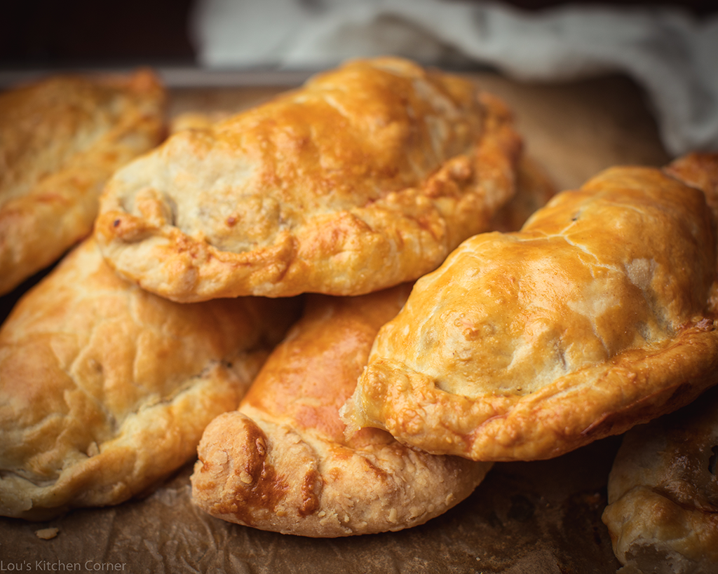 The famous Cornish pasty