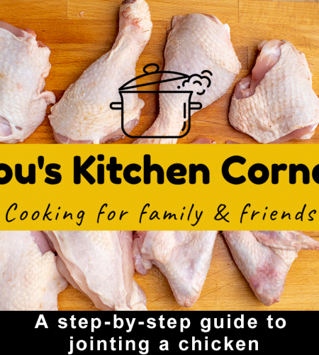 A step-by-step guide on how to joint a chicken