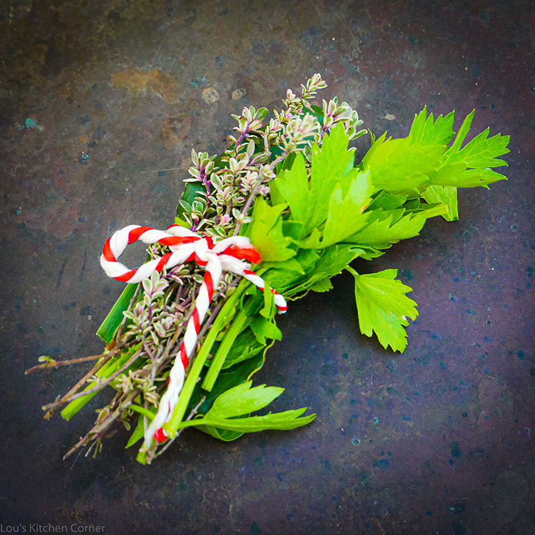 What is a bouquet garni & when to use one
