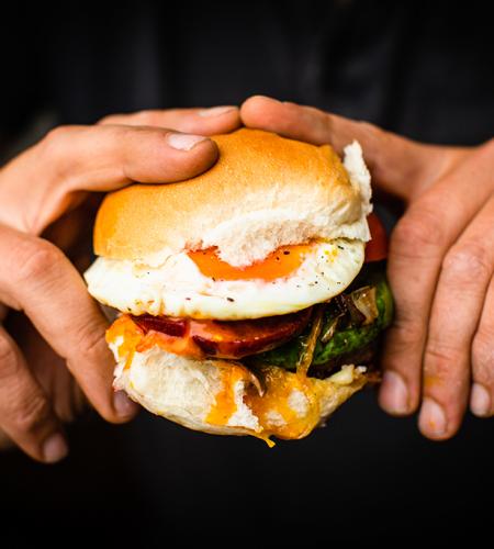 The mighty burger… the Kiwiburger
