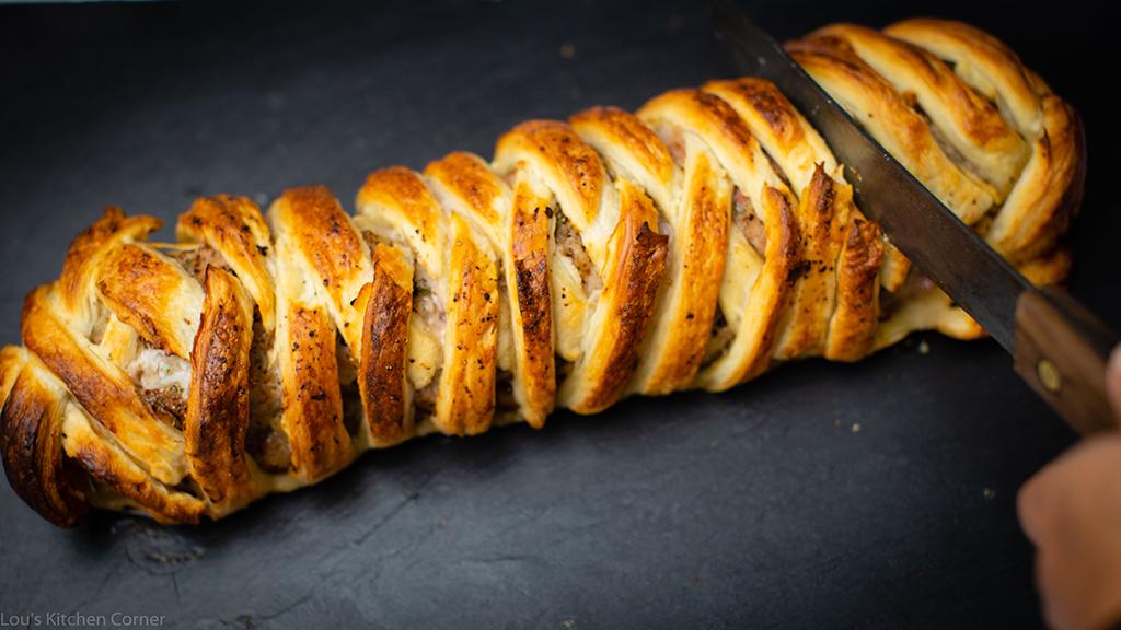 Gigantic sausage roll