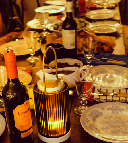 Simple rules for the perfect dinner setup