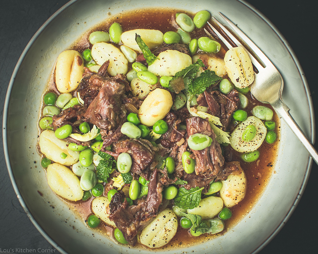 oxtail with gnocchi recipe