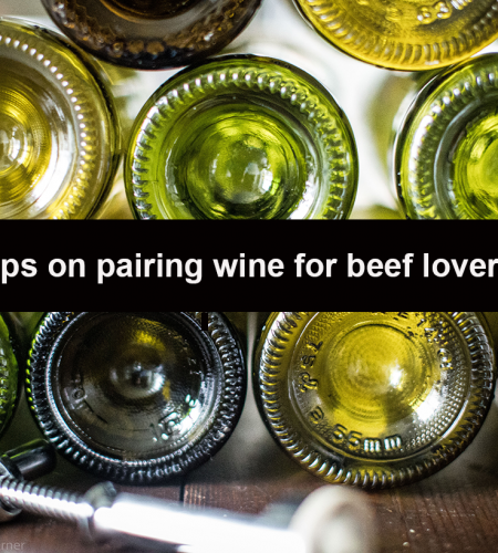 Tips on wine pairing for beef lovers