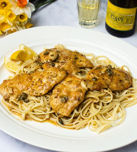 Chicken piccata – Italian simplicity