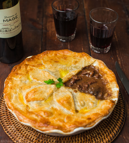 Try Grandma G's steak pie recipe