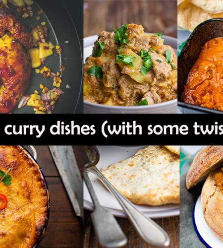 5 curry dishes (with some twists)