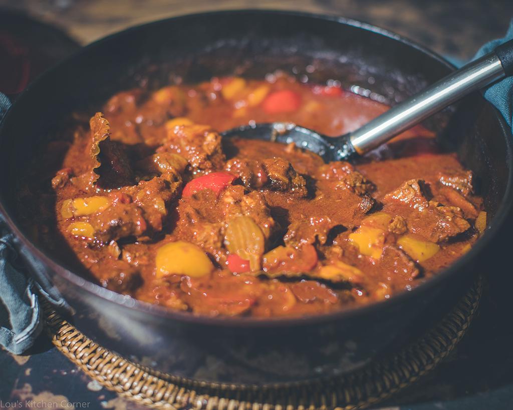 Epic Hungarian goulash dish