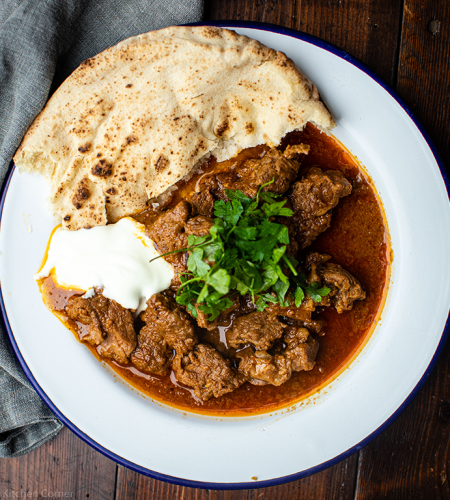 Homemade Rogan Josh curry